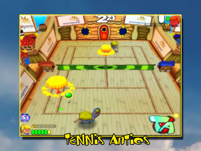 Tennis Antiics Screenshot