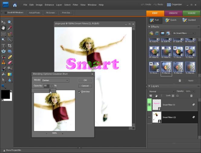 Elements+ for PSE 8, Mac Screenshot