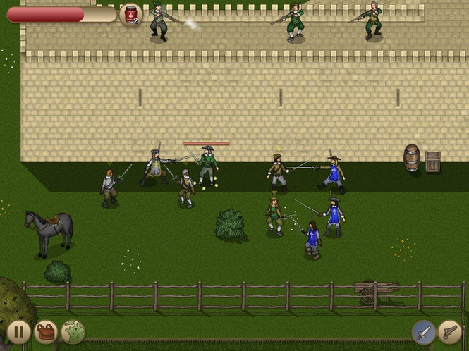 The Three Musketeers: The Game (Mac) Screenshot