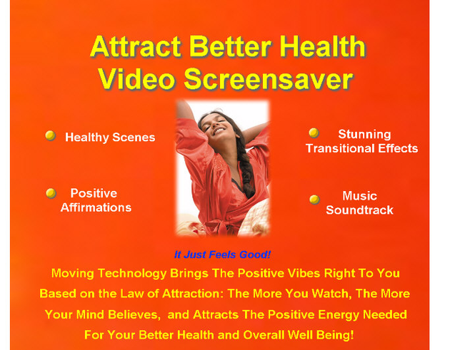 Attract Better Health Video Screensaver Screenshot 1