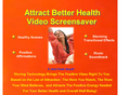Attract Better Health Video Screensaver 1