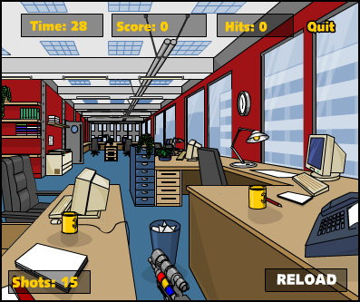 Office Paintball Screenshot
