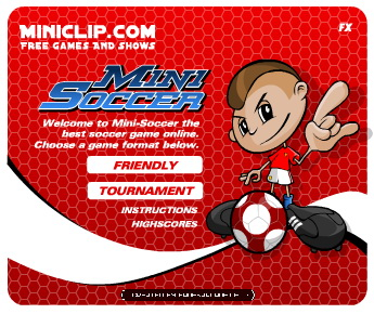 Instant Soccer Game Screenshot
