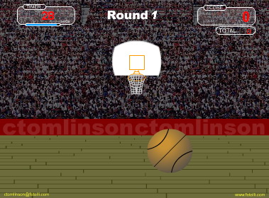 Quick Shot Basketball Screenshot