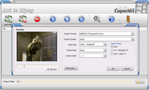 Avi to Mpeg Screenshot 1
