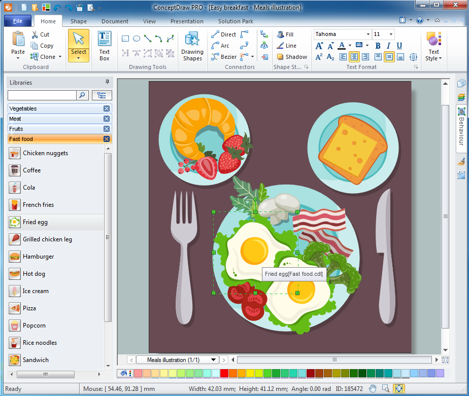 ConceptDraw  OFFICE Screenshot 7