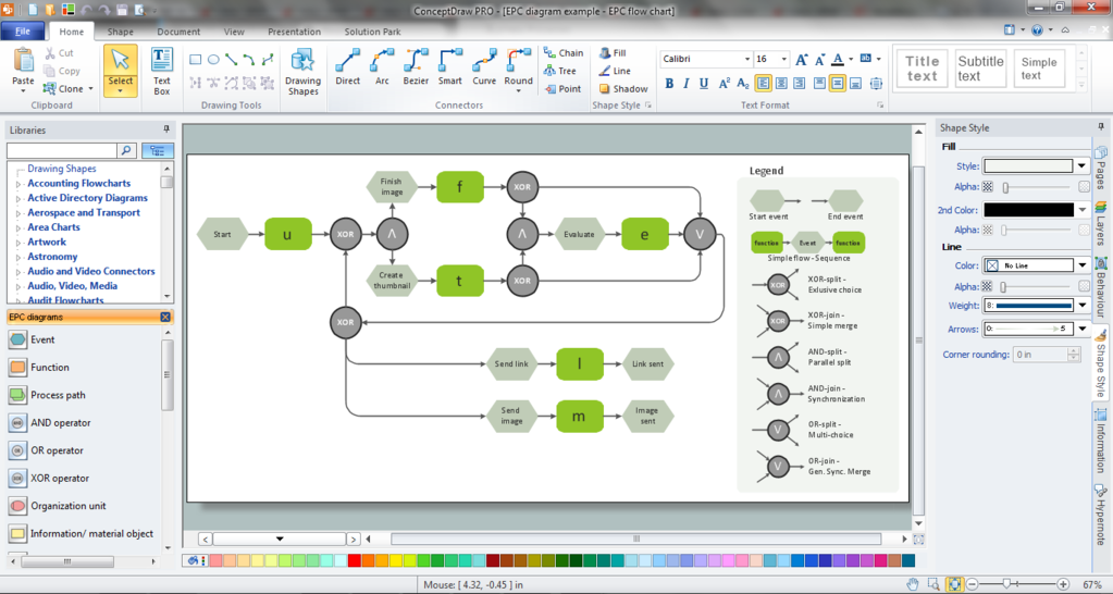 ConceptDraw  OFFICE Screenshot 6
