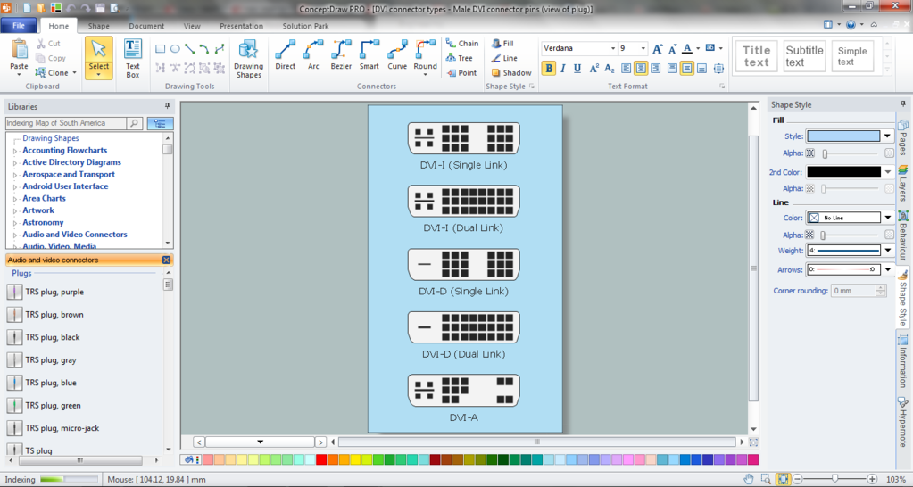 ConceptDraw  OFFICE Screenshot 5