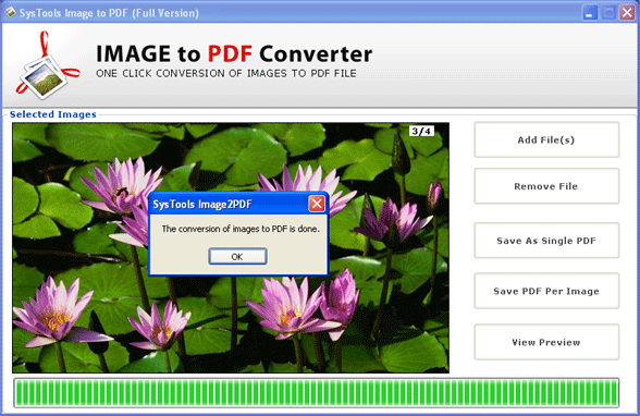 Images to PDF Screenshot