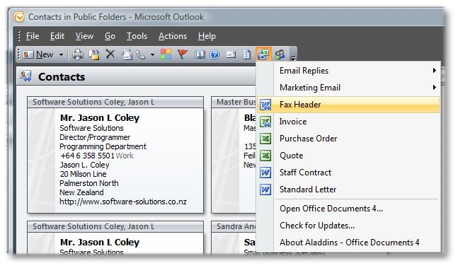 Aladdins Office Documents Screenshot 1