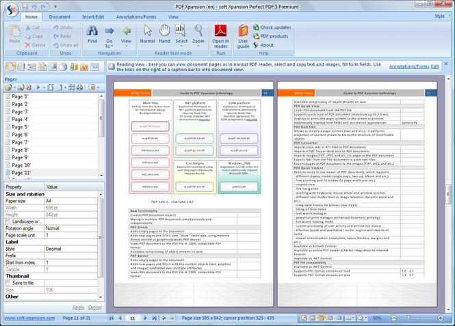 Perfect PDF 5 Premium Screenshot