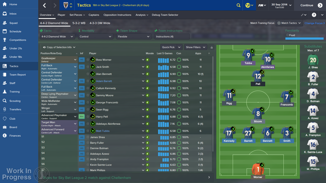 Football Manager Screenshot 2