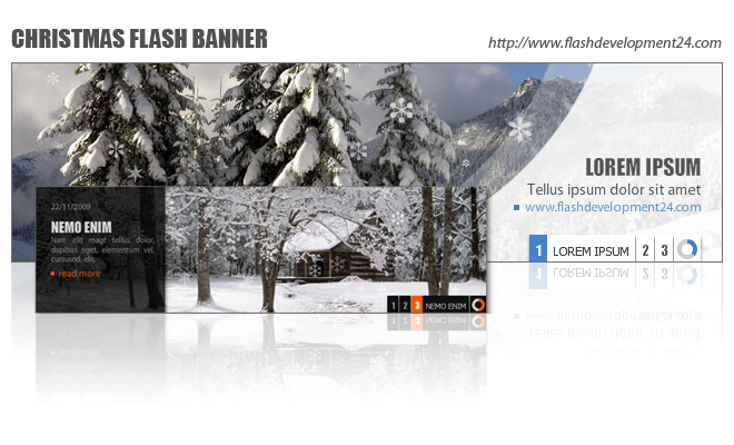 Christmas Flash Banner by FD24 Screenshot
