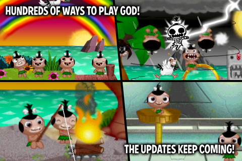 Pocket God Screenshot