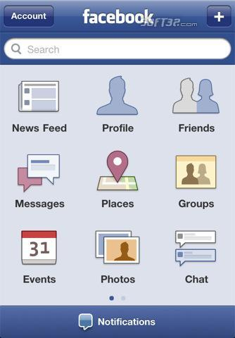 Facebook for iPhone Screenshot 1