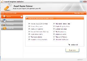 iTopsoft Register Optimizer Screenshot