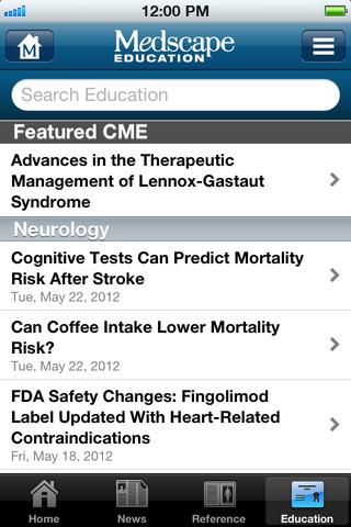 Medscape Screenshot 8