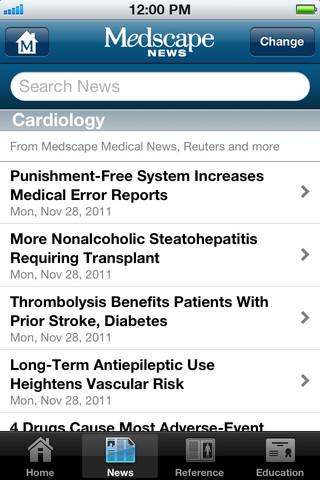 Medscape Screenshot 9