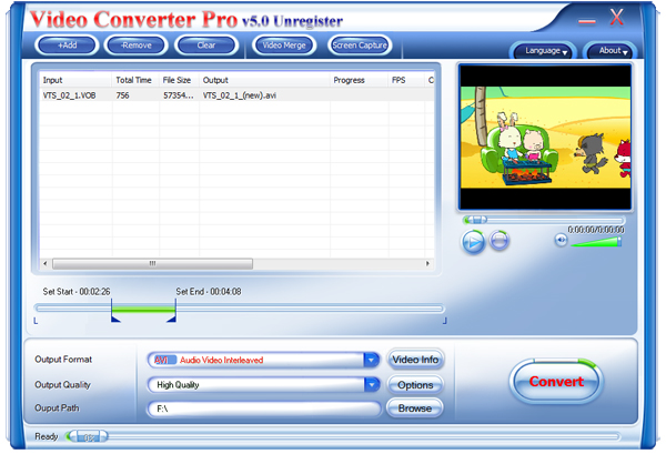 Video Converter Pro Screenshot 1