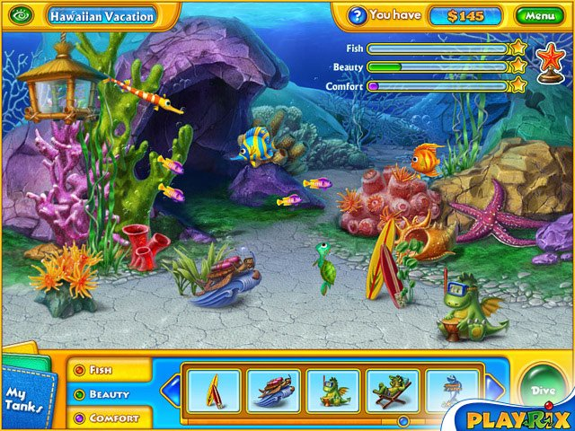 Fishdom H2O: Hidden Odyssey by Playrix Screenshot