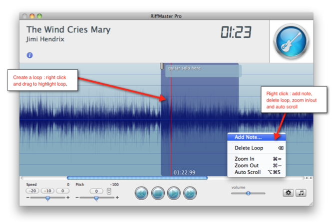 Riffmaster Pro for MAC Screenshot 2