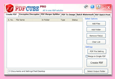PDF Cube Pro Screenshot