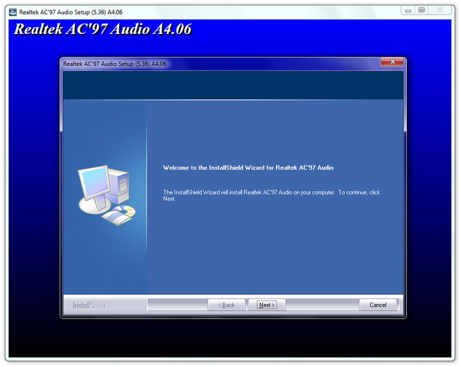 AC'97 Audio Codecs Screenshot