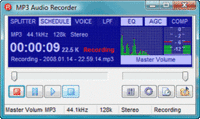 Pistonsoft MP3 Audio Recorder (Business License) Screenshot