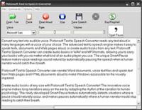Pistonsoft Text to Speech Converter (Business License) Screenshot