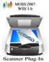 SharePoint Scanner Plug-in Enterprise Edition for MOSS 2007/WSS 3.0 - Global license with one year sup 1
