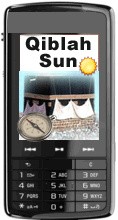 Mobile Qiblah Sun Screenshot