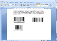 Barcode Generator for Office - 10 Desktop License Screenshot