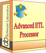 Advanced ETL Processor Enterprise - Site license (1 year maintenance and support contract) Screenshot 1