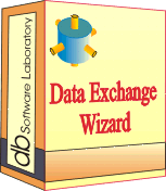 Data Exchange Wizard - Single license (1 year maintenance and support contract) Screenshot