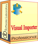 Visual Importer Professional - Site license (1 year maintenance and support contract) Screenshot 1