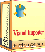 Visual Importer Enterprise - Single license (1 year maintenance and support contract) Screenshot