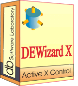 DEWizardX - Single license (1 year maintenance and support contract) Screenshot