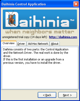 Daihinia(tm) Screenshot