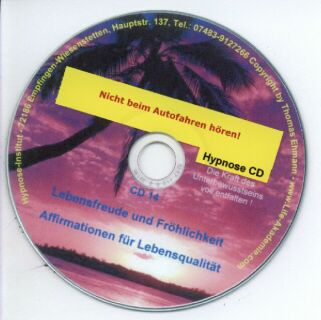 Hypnose CD - Lebensfreude und Fröhlichkeit Screenshot