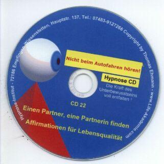 Hypnose CD - Einen Partner, eine Partnerin finden Screenshot
