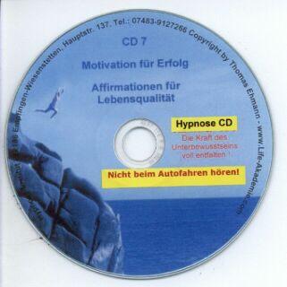 Hypnose CD - Motivation für Erfolg und Leistung Screenshot