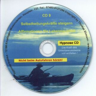 Hypnose CD - Selbstheilungskräfte steigern Screenshot