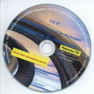 Hypnose CD - Frei sprechen, sicher im Vortragen Screenshot