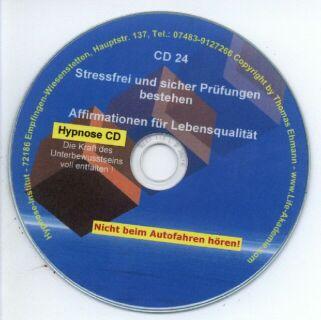 Hypnose CD - Stressfrei und sicher Prüfungen bestehen Screenshot 1