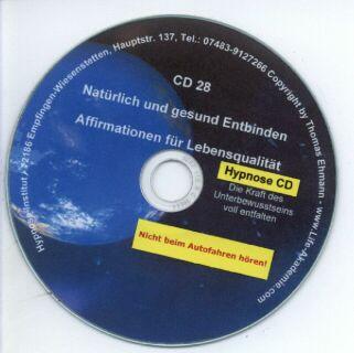 Hypnose CD - Natürlich und gesund entbinden Screenshot 1