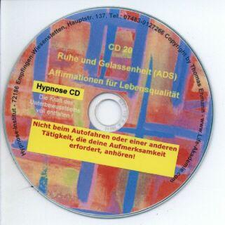 Hypnose CD - Ruhe und Gelassenheit - ADS Screenshot