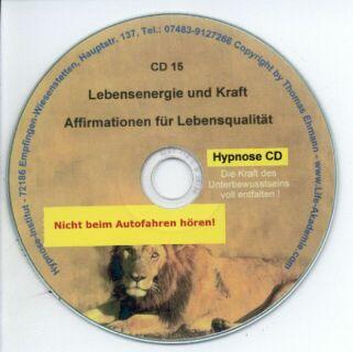Hypnose CD - Lebensenergie und Kraft Screenshot 1