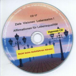 Hypnose CD - Ziele, Visionen, Lebenssinn ! Screenshot