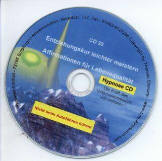 Hypnose CD - Entziehungskur leichter meistern Screenshot