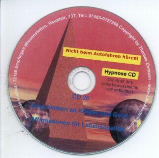 Hypnose CD - Jung bleiben an Körper und Geist Screenshot